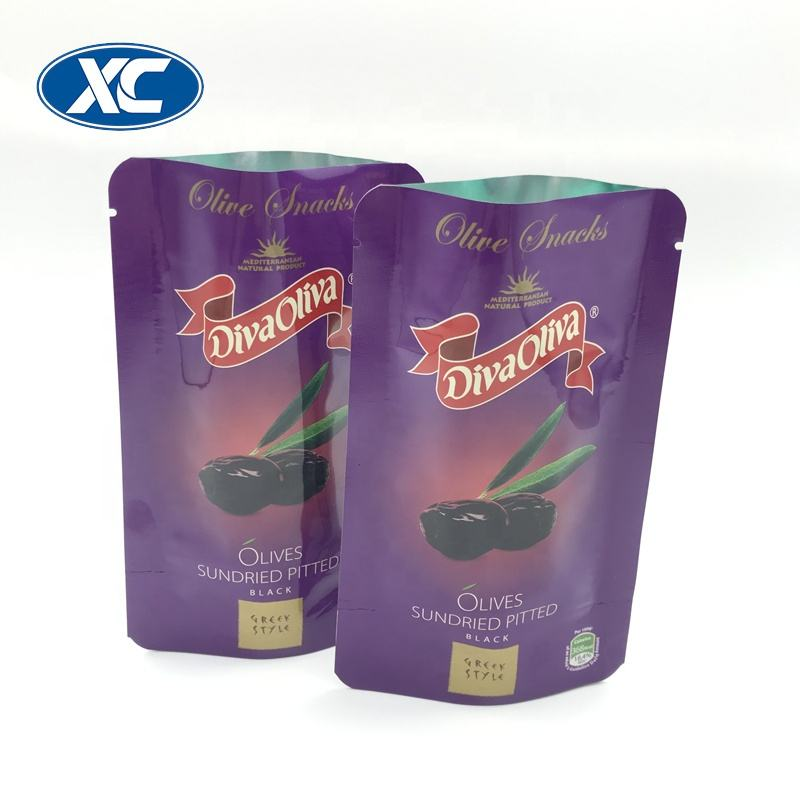 microwavable food packaging bag flat bottom retort pouch price
