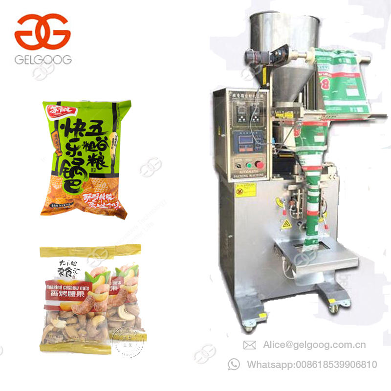 Emballage de joint de remplissage de forme verticale d'azote le plus populaire Machine d'emballage de Fruits secs d'amandes de Granule de grain de café Nimko