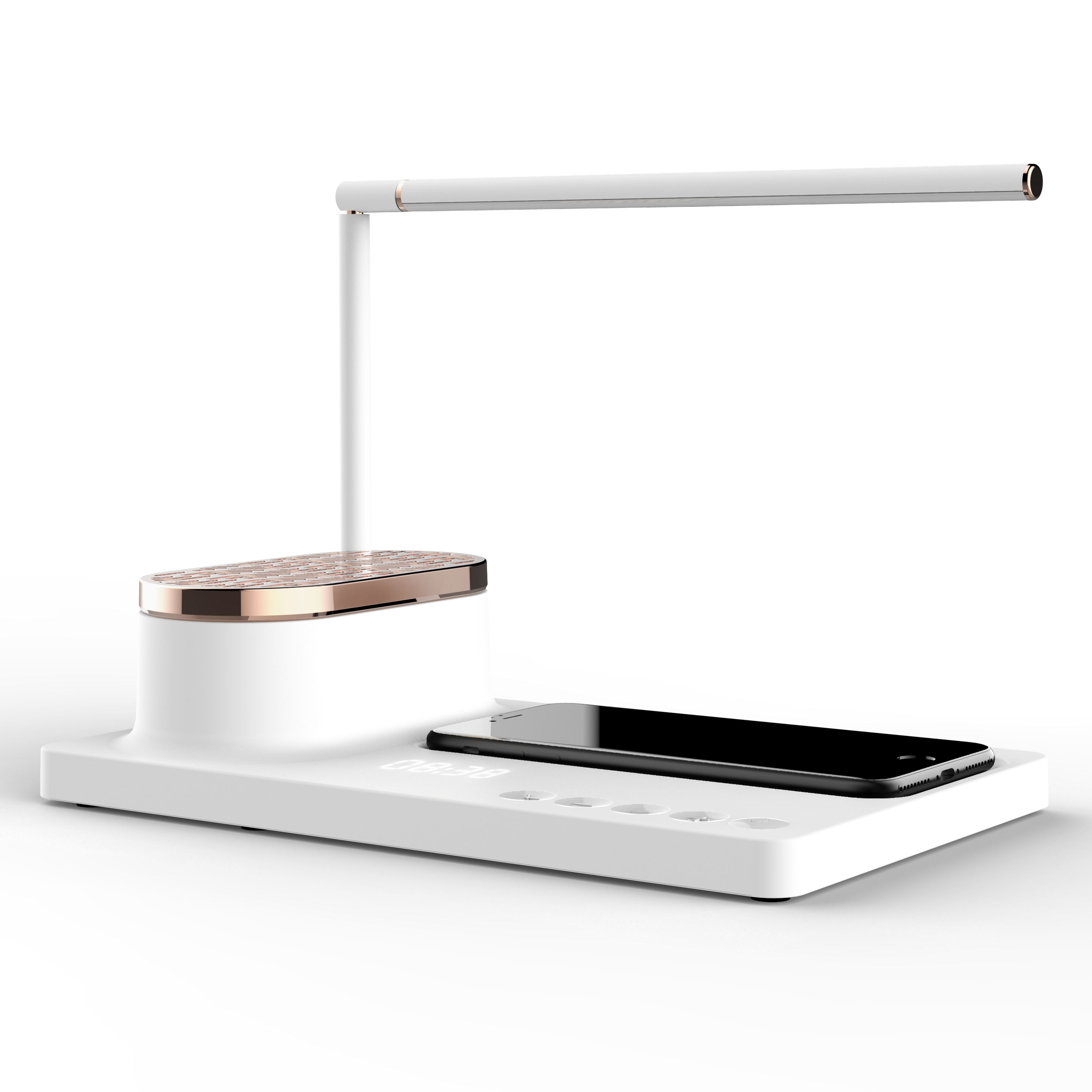 New arrival desk lamps wireless charger with BT speaker lamp light table