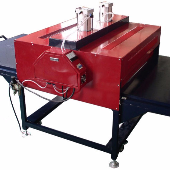 plastisol heat transfers/large format heat press
