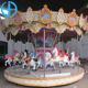 Attractive reasonable price backyard electric carousel for sale