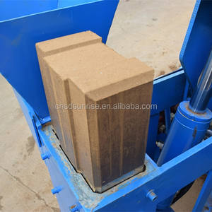 M7MI molding interlocking clay block press mud brick forming machine for africa