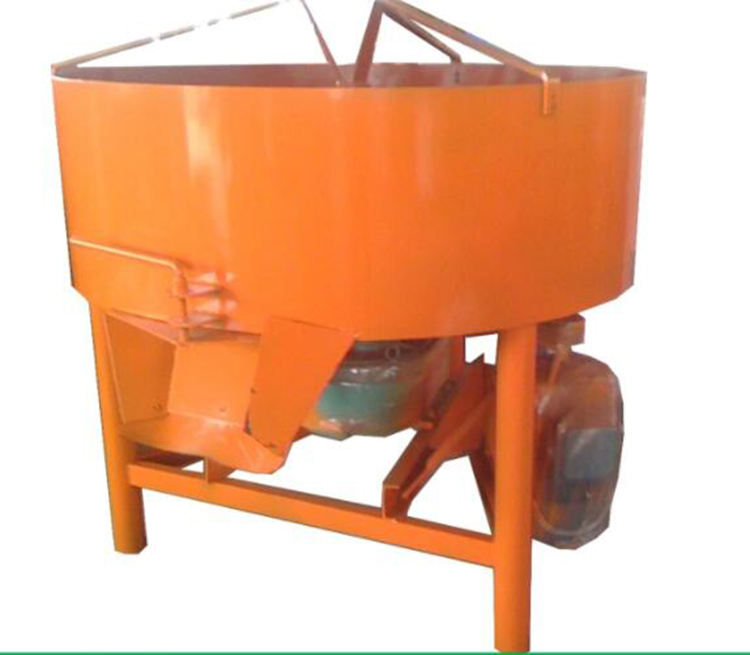 Simple vertical concrete mixer/small diesel engine concrete pan mixer machinery price lowest