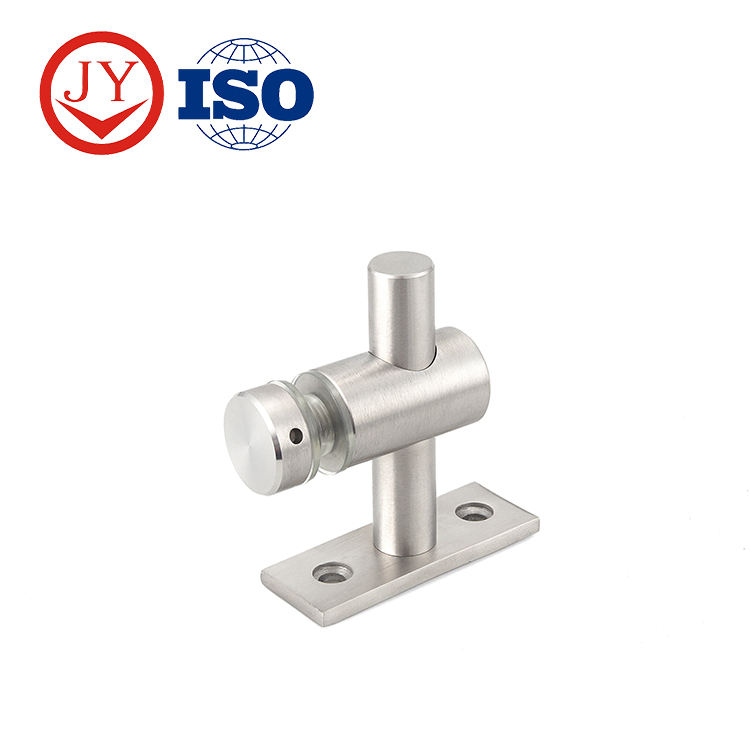 Fixed point glass holder popular style in Ecuador glass connector patch fitting
