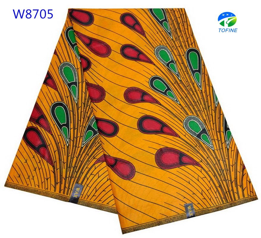 2019 Good price hot selling african wax prints fabric 6 yards cotton holland wax