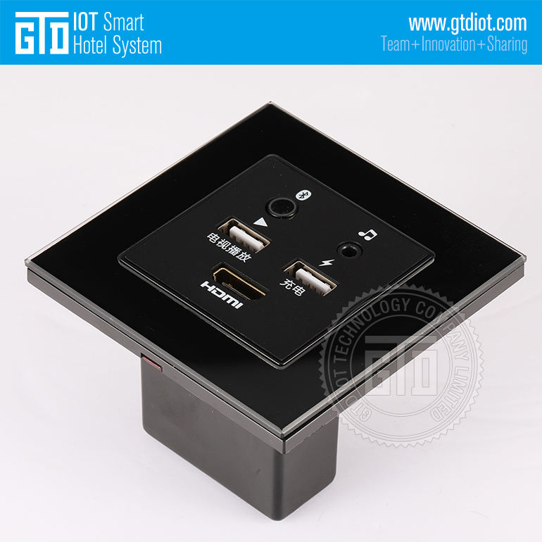 Smart USB Bluetooth HDMI media Hub