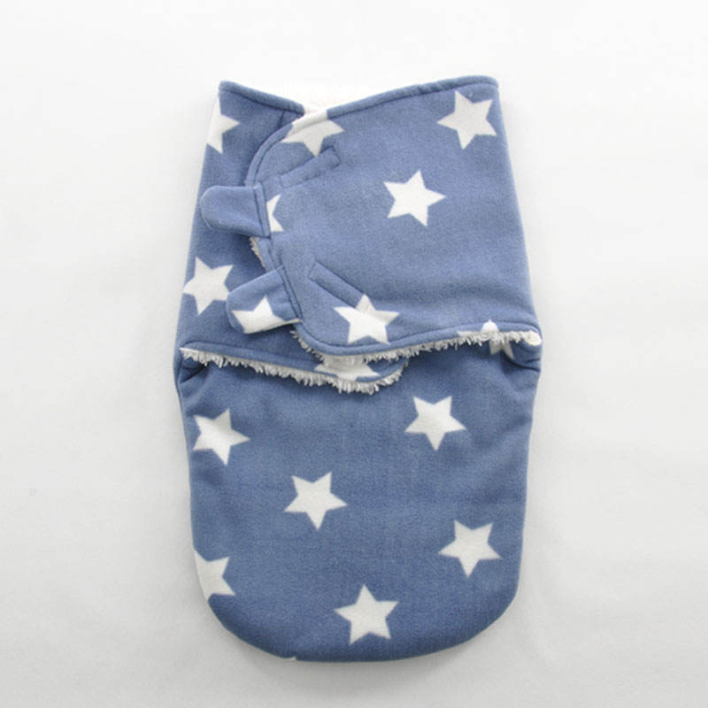 Swaddle Wrap Sack Newborn Baby Wrapping Cloth Swaddling Cloth Sleeper Bag
