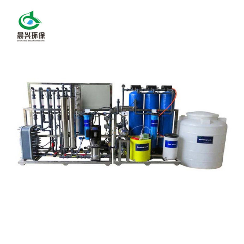 Reverse osmosis Ultra-pure Water treatment and EDI system deionized water equipment for laboratory use