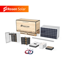 Customized Design 30KW Painel Home Solar System Hybrid with Batteries Back Up Price South Africa