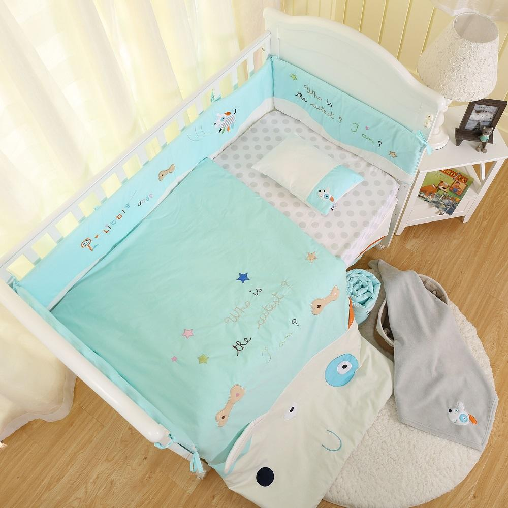 eco-friendly elegant home textile embroidered baby bedding set