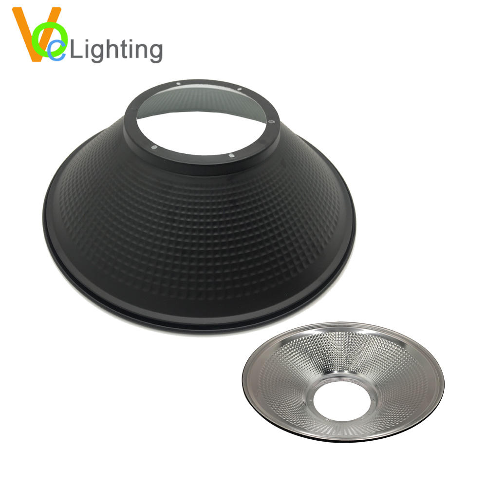 LED LAMP PARTS Light LED Metal Lampshade for High Bay Light Reflector LED