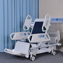 Multifunctional medical elderly care furniture electric 8 function home nursing electric hospital medical bed with toilet