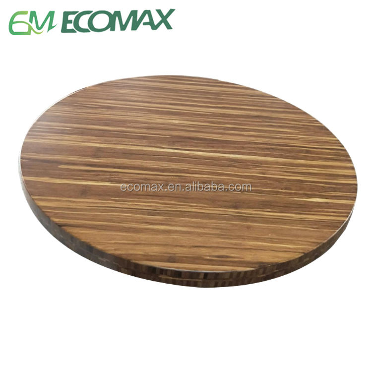 18years factory High Quality Bamboo table top for dining table Restaurant home officetable 100%solid bamboo