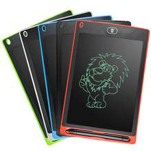 New innovative stationery product 8.5 inch LCD writing tablet kids electronic writing pad erasable magnetic drawing pad for kids