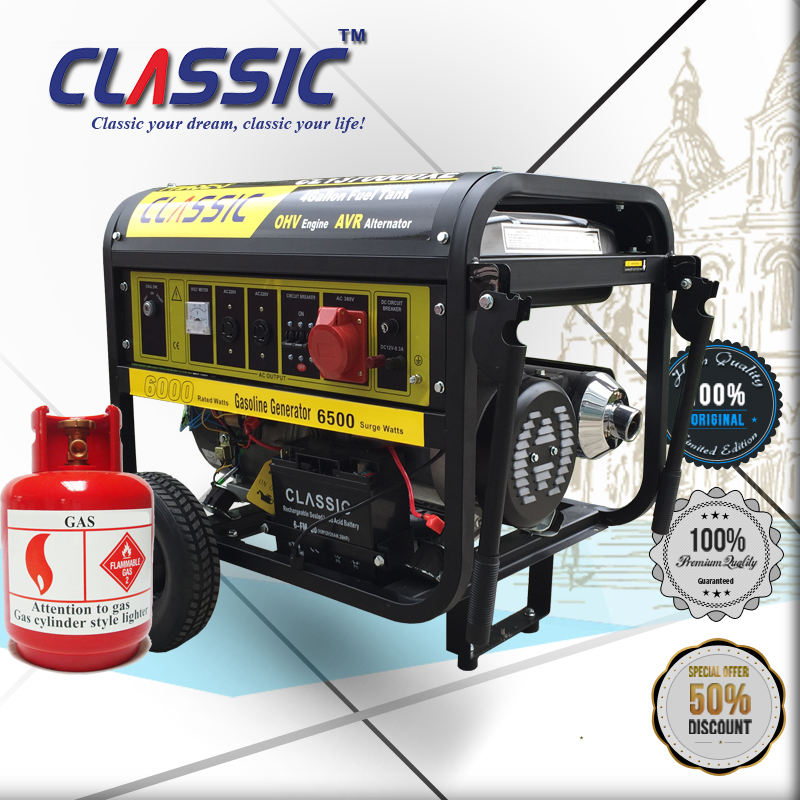 CLASSIC CHINA 5KW Easy-Moving Bio Gas Generator Biogas Electric Generator