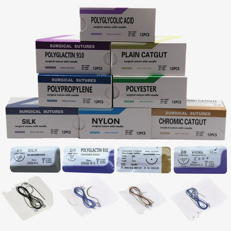 POLYGLACTIN PGA 910 /PGA/ PGLA surgical suture with Needle