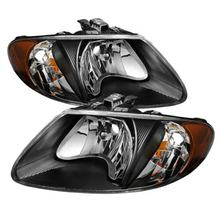 Apply To car Headlights Dodge Caravan For 2001-2007 Headlight Assembly head lamps