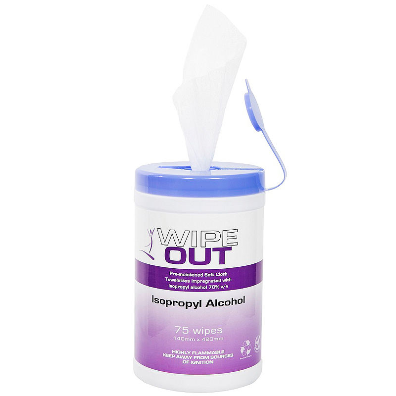 Soft Wet Wipes for Household Baby Kills 99.9/% of Bacteria and Viruses 60pcs Antibacterial Disinfectant Wipes 75/% Alcohol