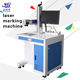 Metal Parts / Planar Circumference Laser Marking Machine 20Watt