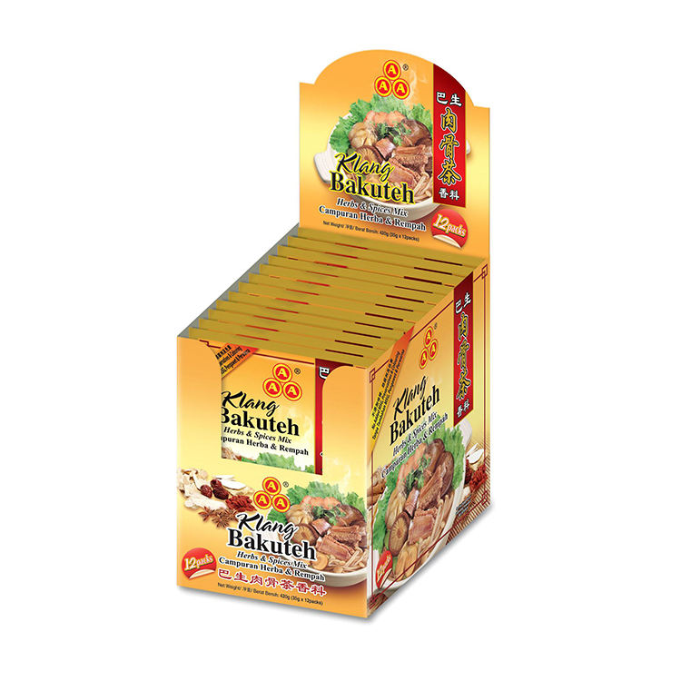 Malaysia Five Spice Cooking Seasoning Herbs Products 3A Dried Klang Bakuteh Spices