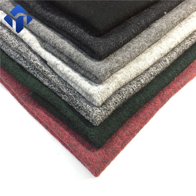 Cheap wholesale wool fleece boiled winter coat fabric from china