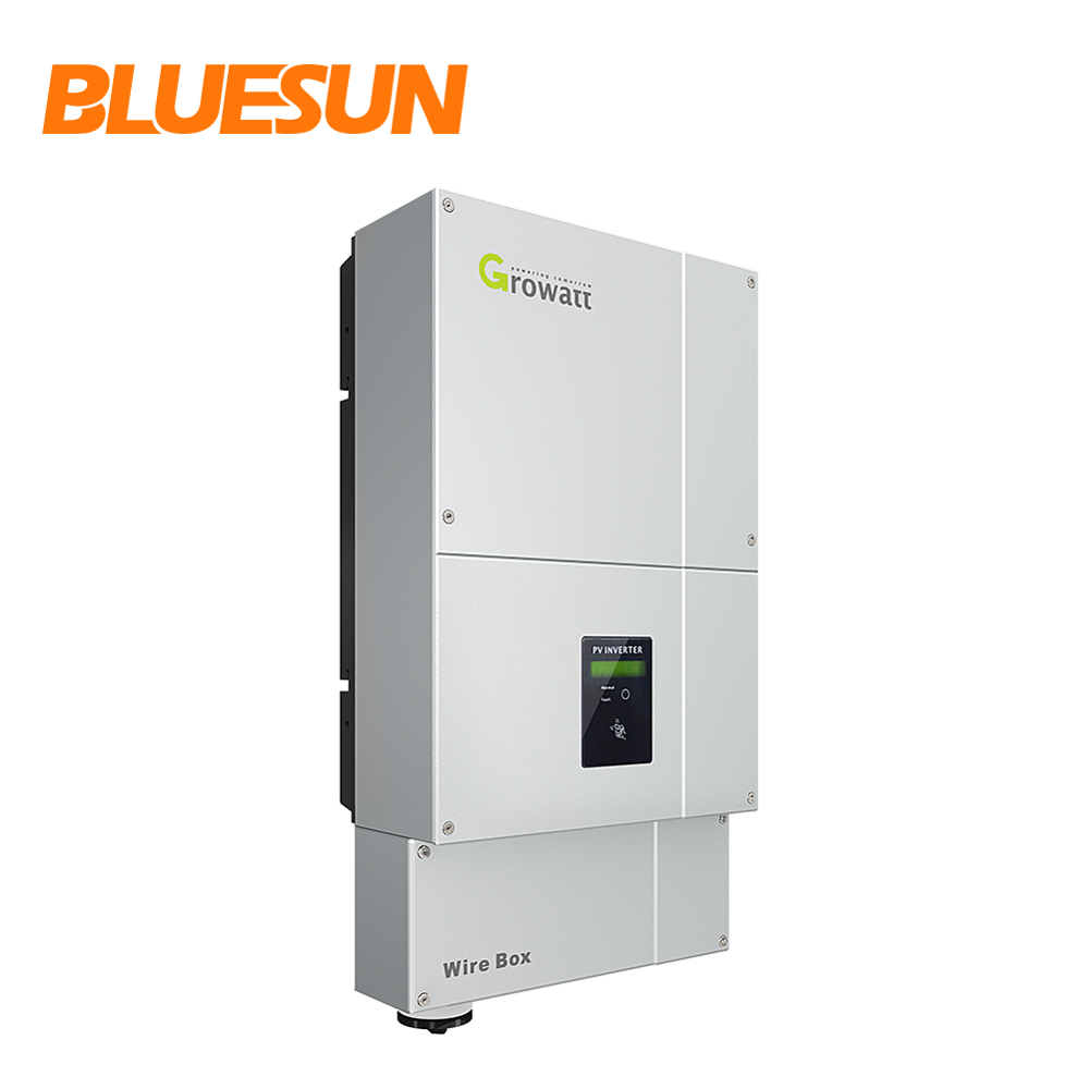 Op grid US standaard inverter 5KW Growatt MTL-US 240v split fase inverter grid tie inverter voor USA