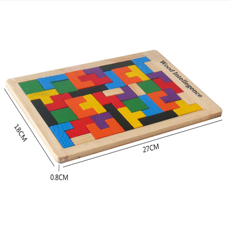 FQ brand kids educational puzzle toy hot sale wooden sliding blocks puzzle
