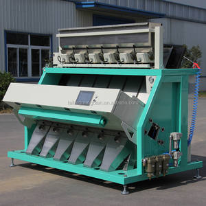 large capacity 6slide boards ccd rice color sorter machine