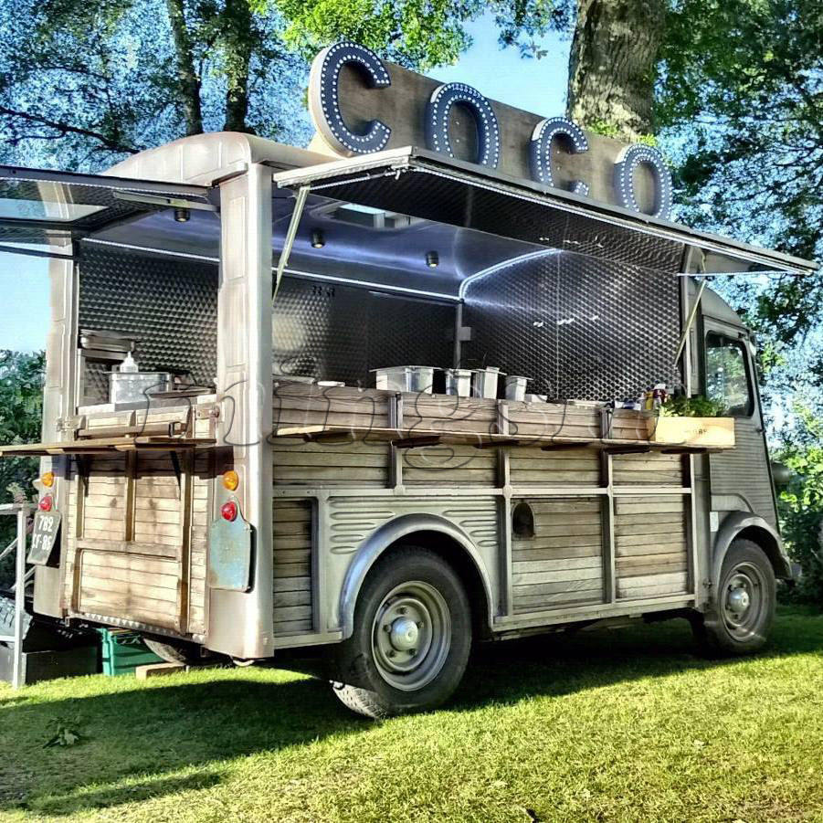 2018 New Design Citroen MS-D1-2 Food Trailer