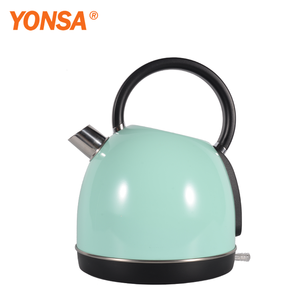 European Electronic Appliances 1.7 Liter Seamless Parts 1.7L Coffee Tea Water Pot Electric Stainless Steel Kettle