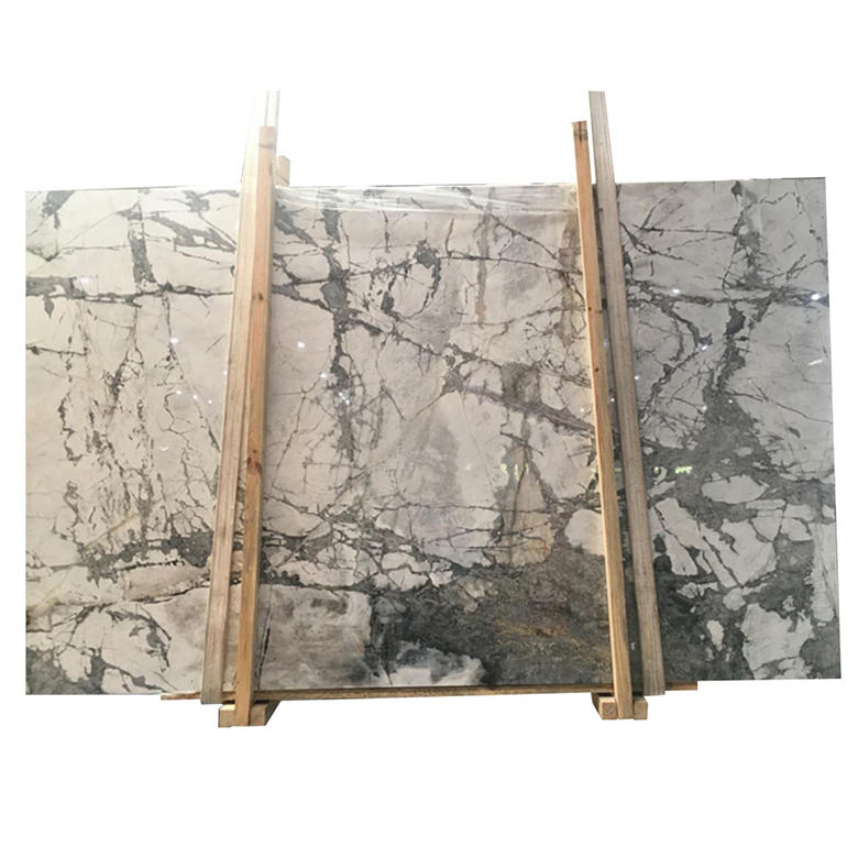 Newstar stone italian similar staturio calacatta fantastic white granite slab exotic white marble slab and tile