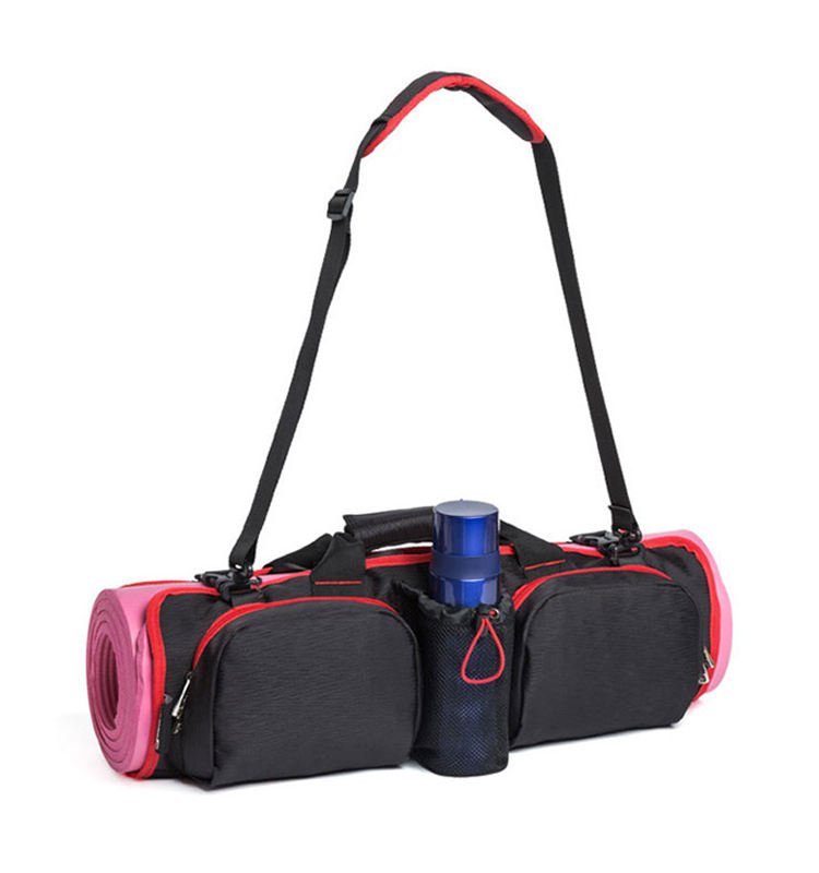 Womens Sling Gym Accessories Yoga Mat Cover Tote Bag