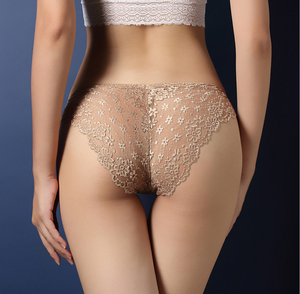 Vrouwen See Through Lace Knickers Lingerie Ondergoed Sexy Slipje