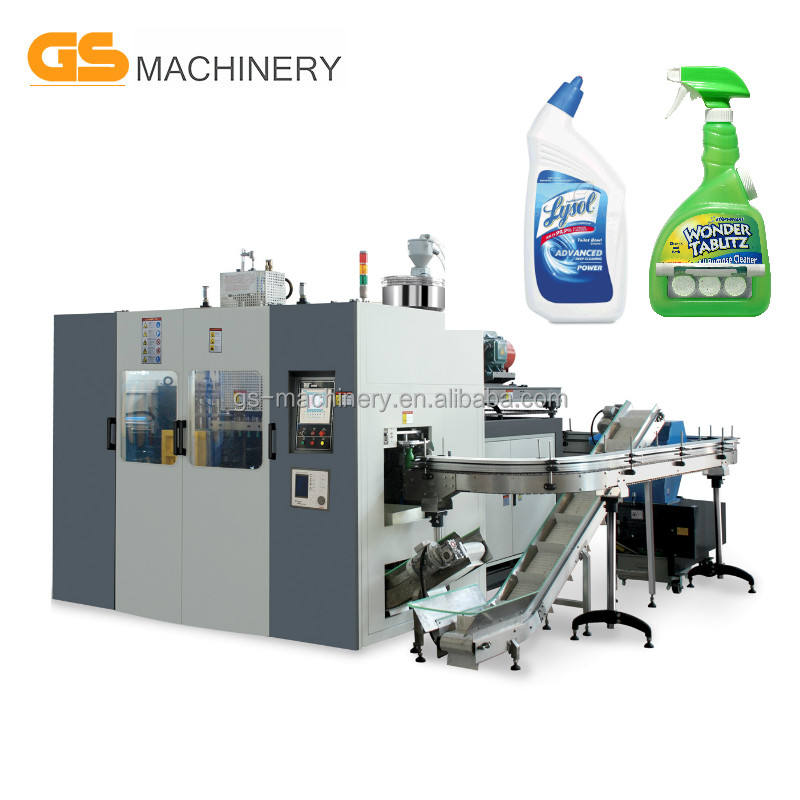 WC Cleanser Plastic Bottle Making Machine