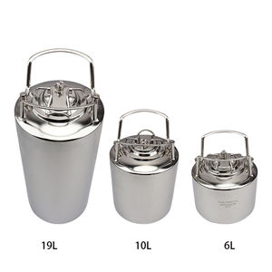Homebrew Stainless Steel Ball Lock Cornelius Beer Keg 6L/10L/19L/24.5L Factory Price