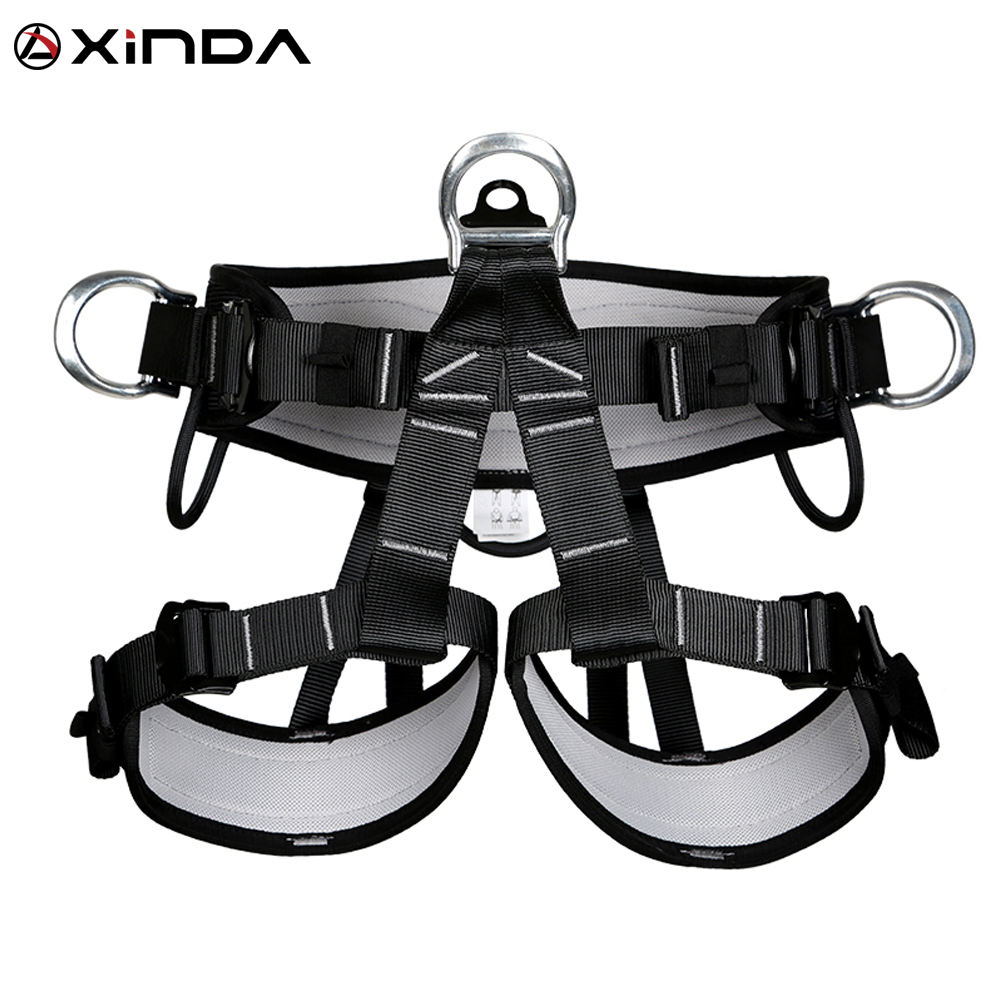 XINDA construction black half body harness for working at height climbing
