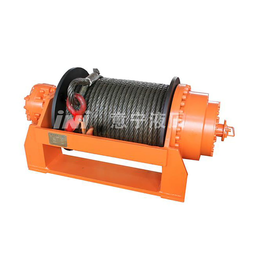 ISYJ Series Planetary Hydraulic Vehicle Recovery Winch Rope superwinch