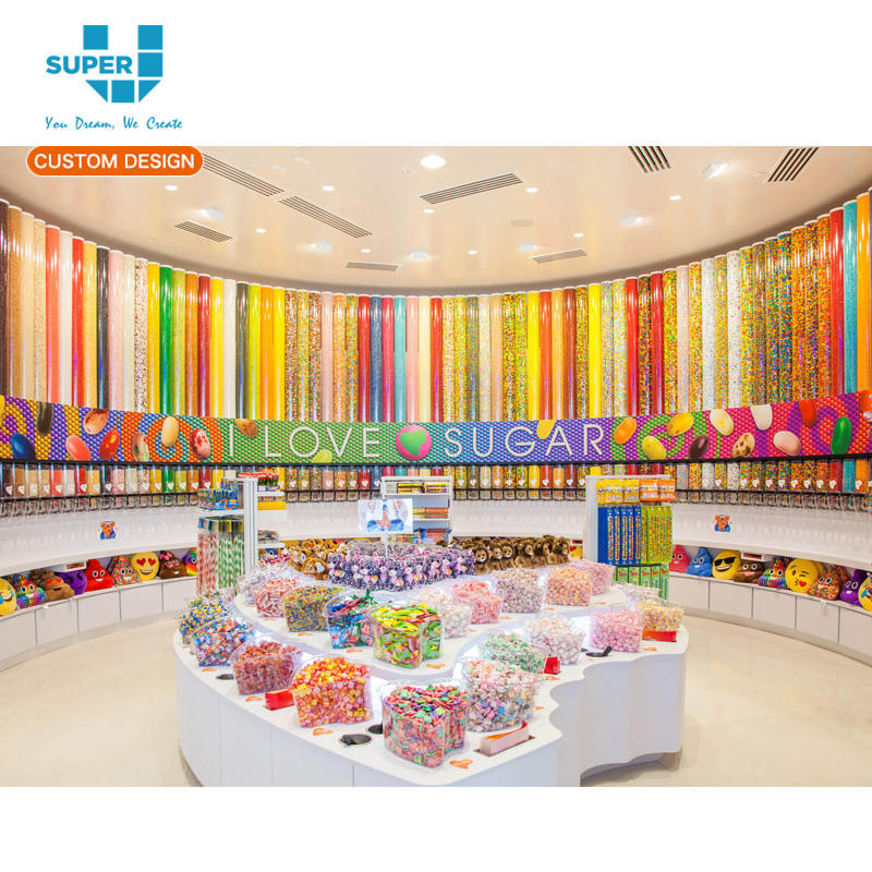 Decor Candy Store Furniture Design Sugar Display