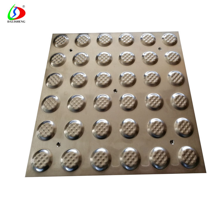 Metal Studs in Pavement Stainless Steel Tactile Paving Stud for Blind