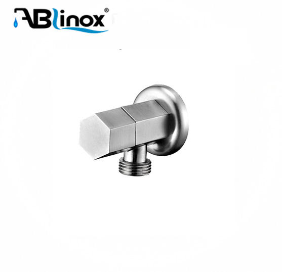 High quality stainless steel cock angle stop valve for economic family