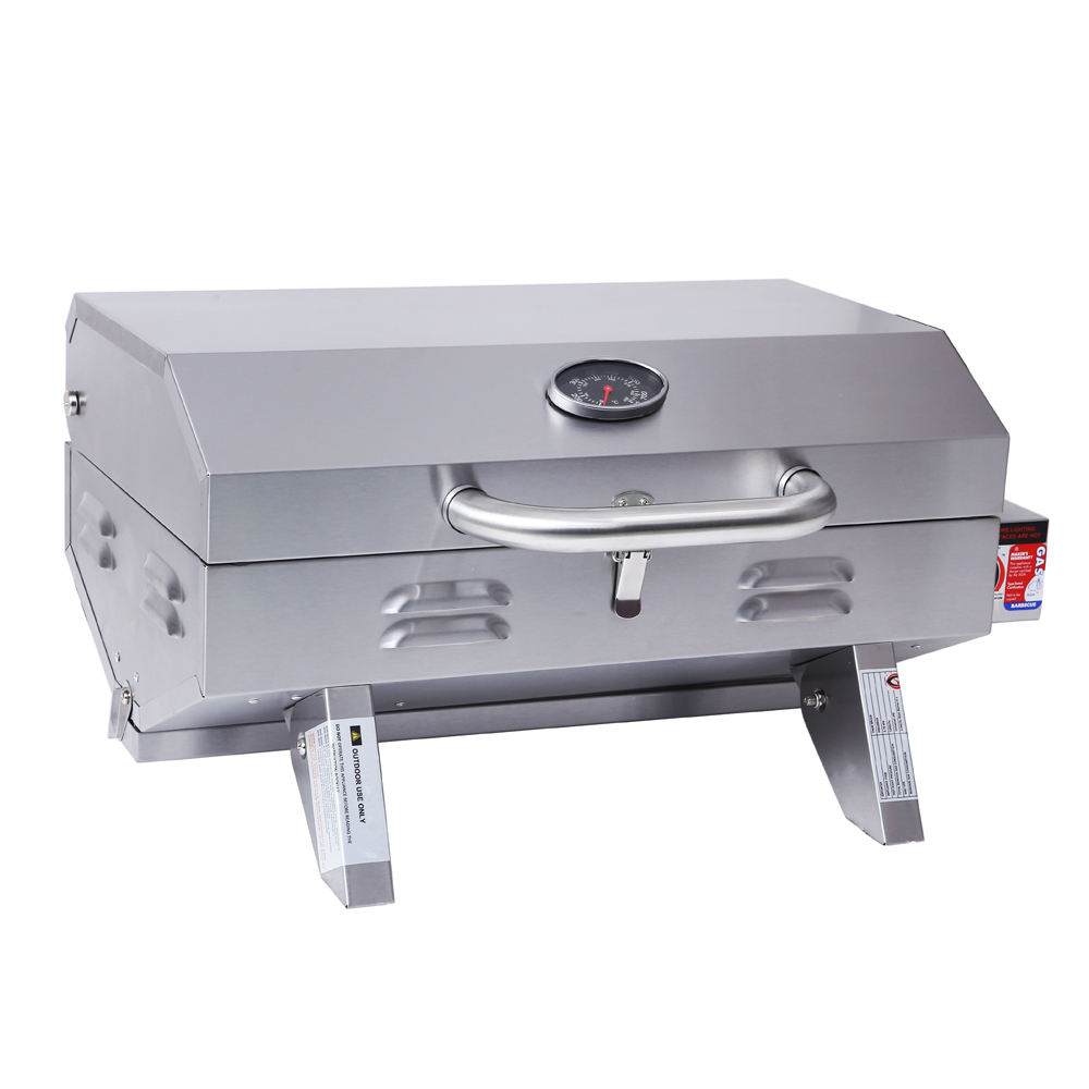 Portable Outdoor commercial mini barbecue gas grill for camping
