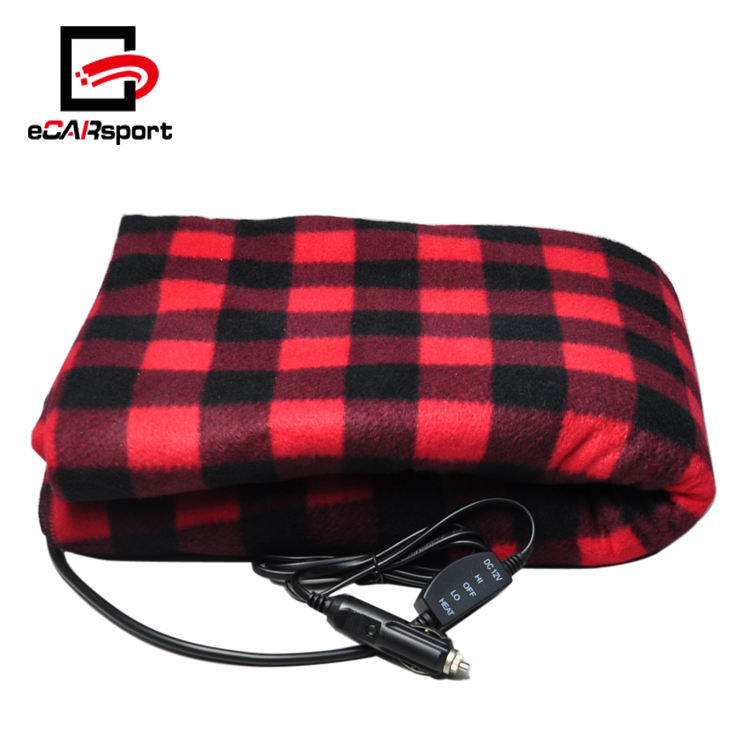 eCARsport 12V Car Heated Blanket Electric