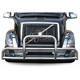 Factory Top Selling Universal Truck Deer Guard for VOLVO VNL Front Bumper Guard Fits Semi Heavy-duty Trucks