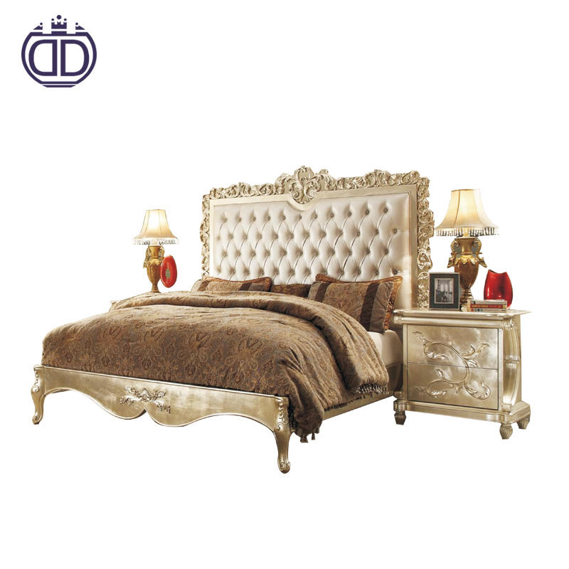 Five star quality bed designer furniture best design custom king size alibaba leather bed