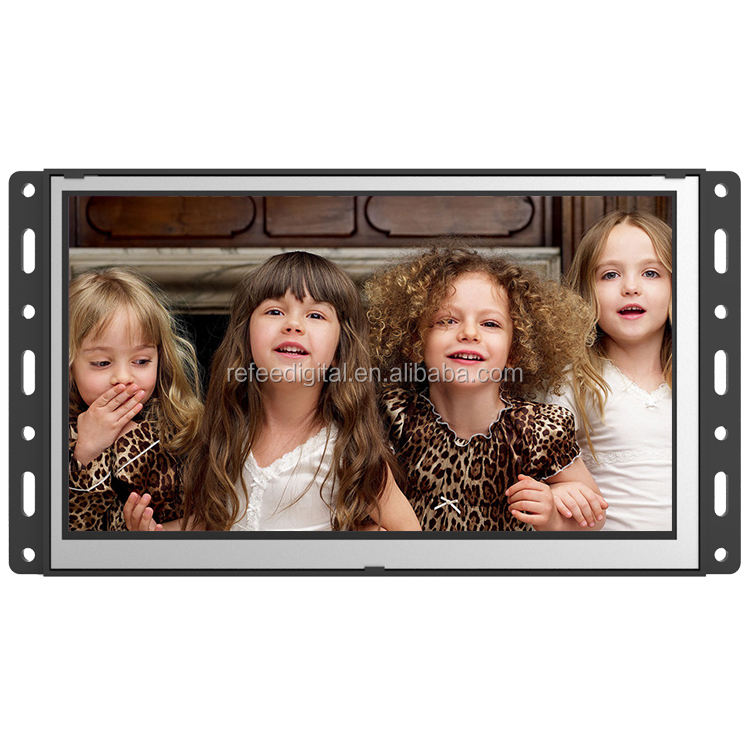 7 polegadas open frame monitor lcd elevador display/digital signage