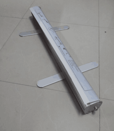 hand roller banner aluminum roll up stand easy moving nice price