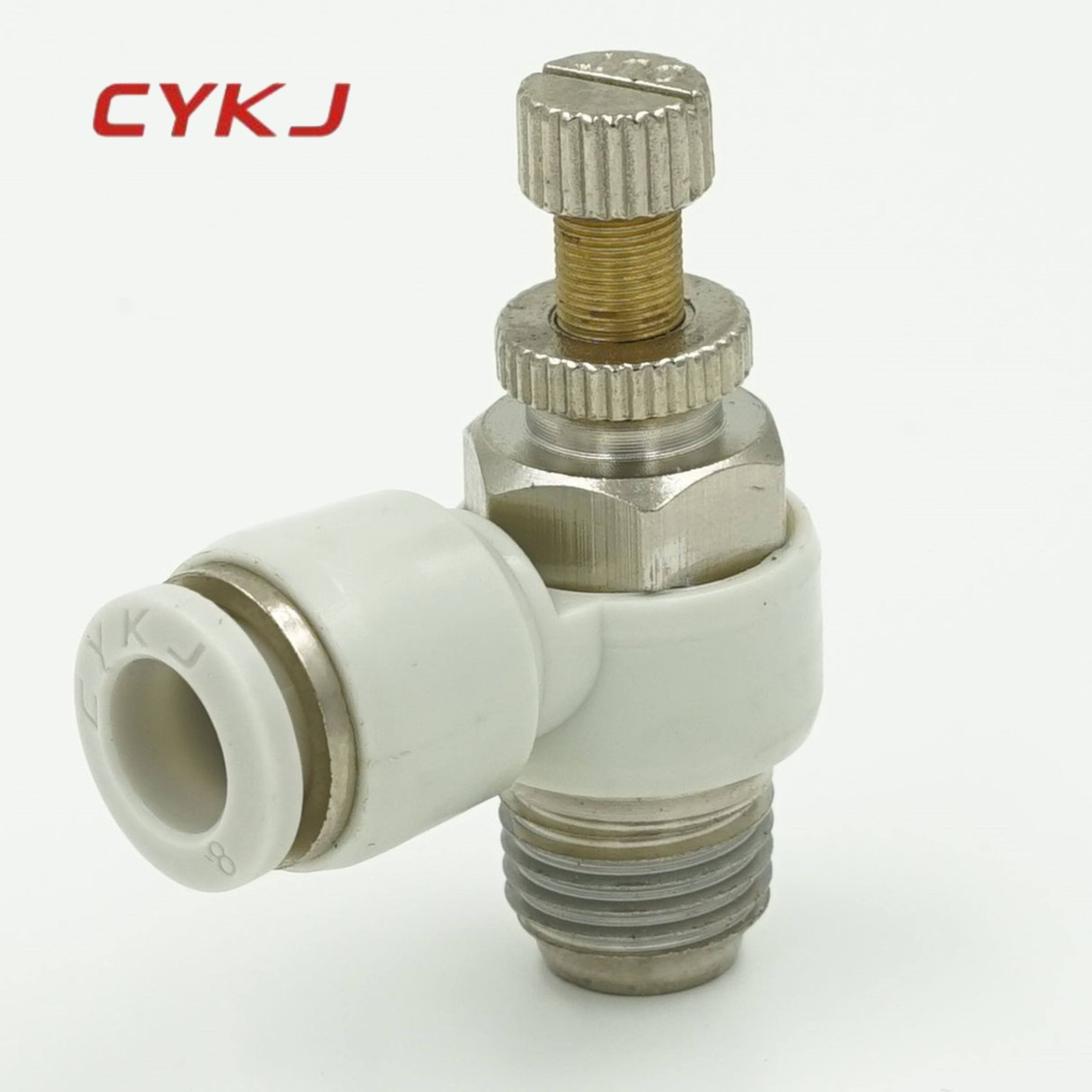 Pneumatische Quick Connector pneumatische kleppen fittings air slangkoppelingen types