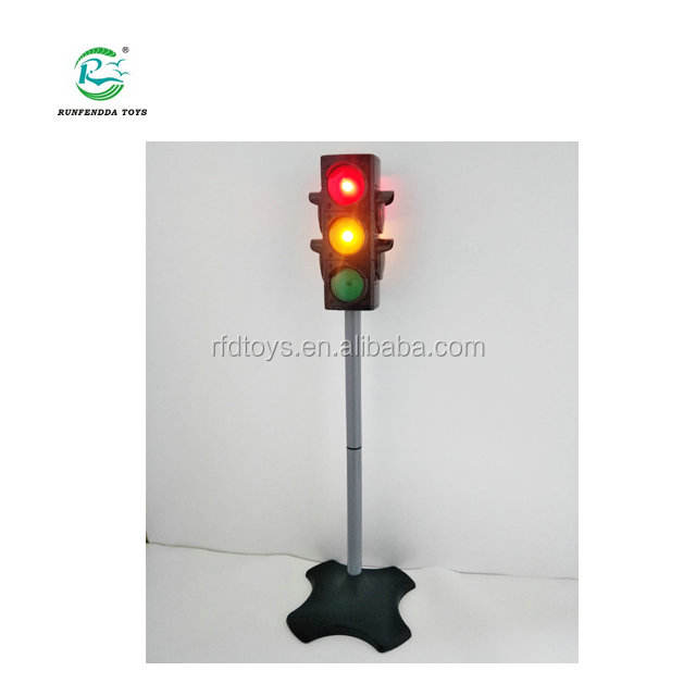 Toy Traffic & Crosswalk Signal with light & Sound - 4 sided, over 29