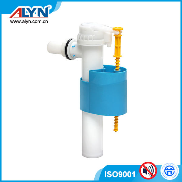 "Soft touch POM side enter tank fittings G3/8"" G1/2"" toilet water fill valve"