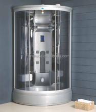 Hot-selled quarter gray completed shower room & steam sauna shower room